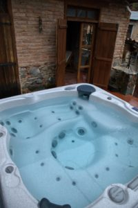 purple rustic villa with jacuzzi saranti village cyprus nicosia traditional holiday home house